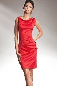 Nife S15 Sukienka z efektem wody